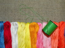 Thread and yarn Royalty Free Stock Photography