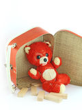 Threadbare bear Royalty Free Stock Images