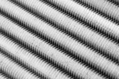 Threaded Metal Rods Royalty Free Stock Photo