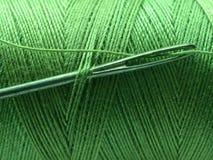 Free Threaded Needle Royalty Free Stock Image - 4023166