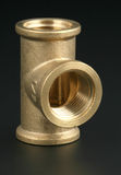 threaded pipe fitting Royalty Free Stock Photography