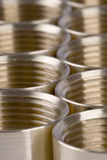 Threaded pipe fittings Stock Images