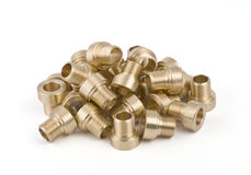 Threaded pipe fittings Stock Photos