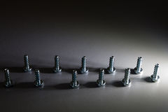 Threaded screws Stock Photography