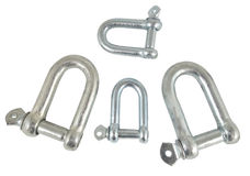 The Threaded shackles Stock Photography