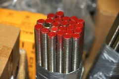 Threaded stud Stock Images