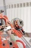 Threading pipe Stock Image