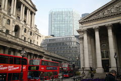 Threadneedle Street London Stock Photography