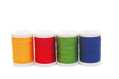 Threads. Colorful threads isolated on white background Stock Photo