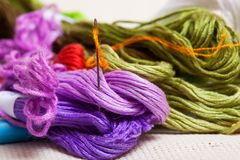 Threads Royalty Free Stock Photography