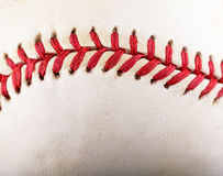 Threads on Baseball Stock Photography