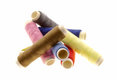 Threads colored Royalty Free Stock Images
