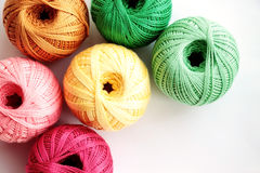 Threads For Handcraft Royalty Free Stock Images
