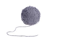 Threads for knitting Stock Images