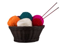Threads for knitting Stock Photography