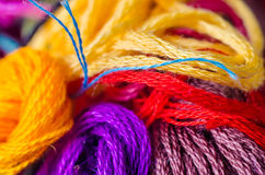 Threads macro Royalty Free Stock Images