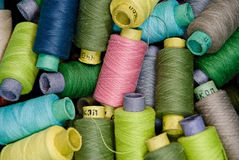 Threads reels Stock Photo