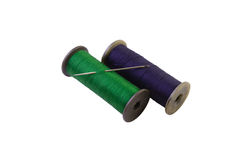 Threads on reels Royalty Free Stock Photos