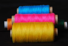 Threads for sewing Royalty Free Stock Photo