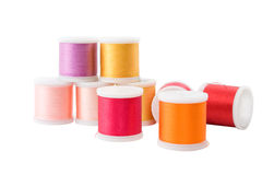 Threads on spool Royalty Free Stock Image