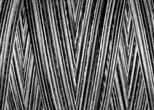 Threads in spool,macro Stock Photo
