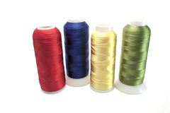 Threads in spools Stock Photography