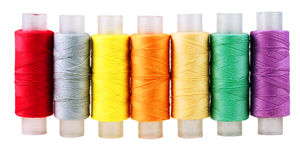 Threads varicoloured Stock Photo