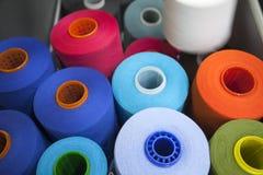 Threads1 variopinto Fotografia Stock