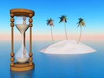 Threatened Paradise Stock Image