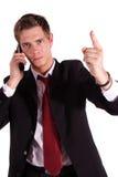 Threatening call Stock Photography