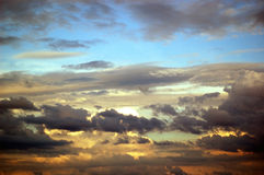 Threatening sky Stock Photography
