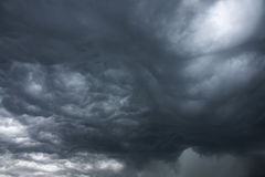 Threatening storm clouds Royalty Free Stock Photography