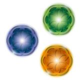 Three abstract ball Stock Images
