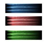 Three abstract banner Stock Photos