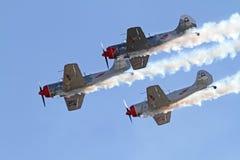 Three Aerobatic Aircraft Stock Photography
