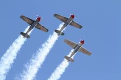 Three Aerobatic Aircraft Stock Images