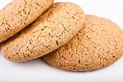 Three air biscuits close Stock Photography