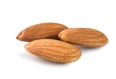 Three Almond Stock Photography