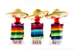Three Amigos. A bottle dressed up for Cinco de Mayo