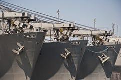 Three Anchors Royalty Free Stock Photo