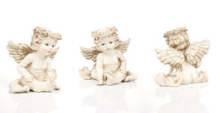 Three angels Stock Photography
