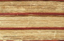 Three antique books. Closeup of three antique books Royalty Free Stock Photo