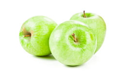 Three apple Royalty Free Stock Photos