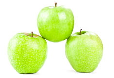 Three apple Royalty Free Stock Image