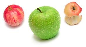 Three apple Stock Photos
