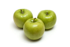 Three Apples Royalty Free Stock Image