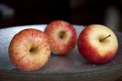 Three apples Royalty Free Stock Photos