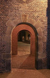 Three arches. Each other in the old town Royalty Free Stock Photography