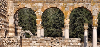Three arches Royalty Free Stock Image