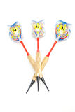 Three arrows darts Royalty Free Stock Images